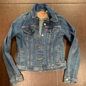 Authentic Levi's Denim Jacket Button Down XS EUC